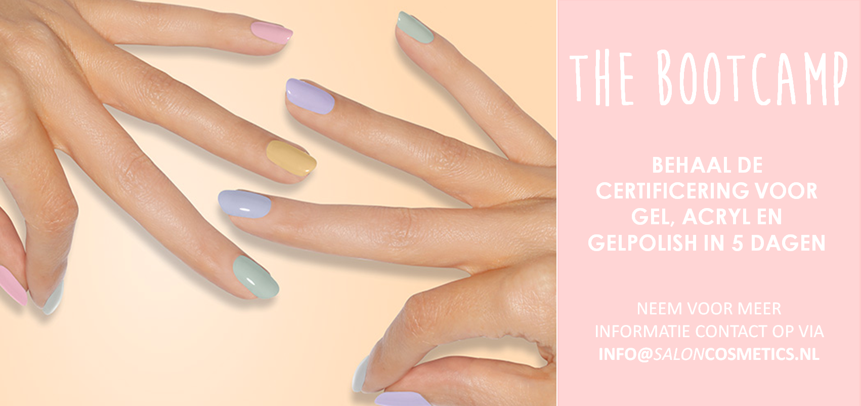 Bootcamp opleiding nagelstyling